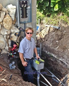 Ttreasure coast electrician Glenn Goodiel Installing Residential Main Circuit Panel