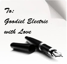 Goodiel Electric testimonial: Dependable and Honest Electrician