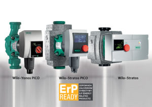 Water source heat pumps by Wilo.